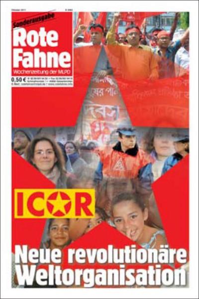 Rote Fahne - ICOR Neue revolutionäre Weltorganisation