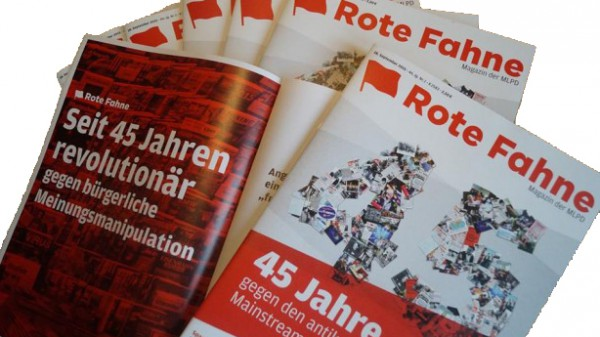 Rote Fahne Magazin Abonnement
