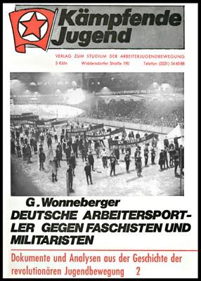 Deutsche Arbeitersportler gegen Faschisten und Militaristen