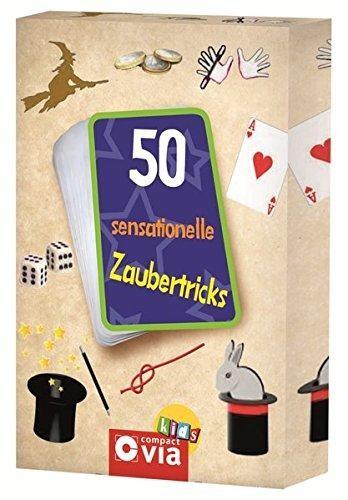 50 sensationelle Zaubertricks: Zauberkarten für kleine Magier