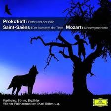 Peter und der Wolf. Der Karneval der Tiere. Kindersymphonie, 1 Audio-CD