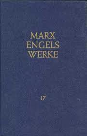 Marx/Engels, Werke Band 17 (antiquarisch)