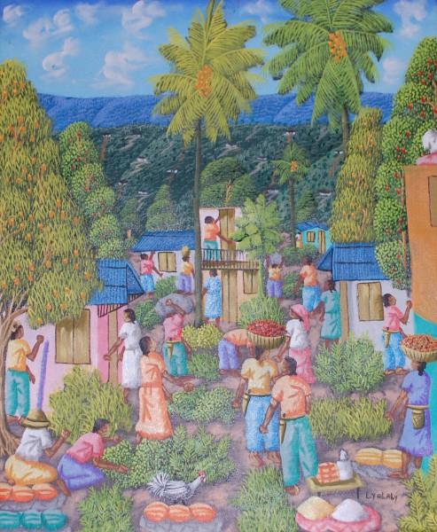Gemälde Ernte