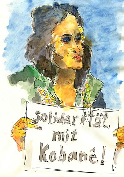 Solidarität mit Kobanê!