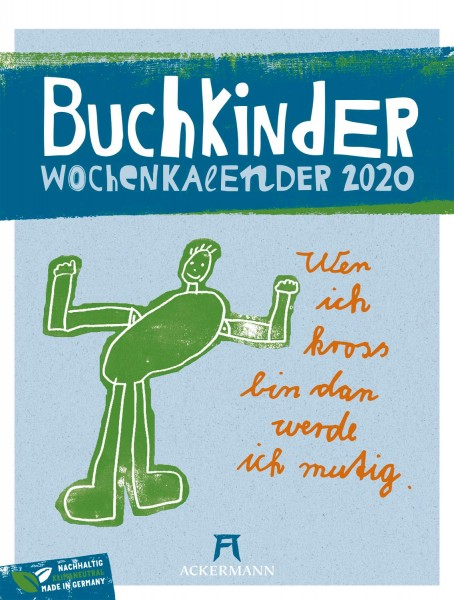 Buchkinder - Wochenplaner 2020