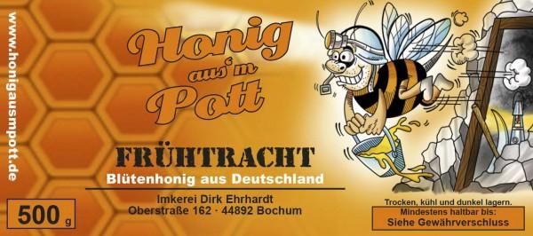 """Honig aus`m Pott, Bienenhonig """"Frühtracht"""""""