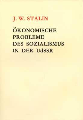 Ökonomische Probleme des Sozialismus in der UdSSR