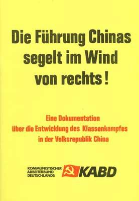 China Aktuell 1: Die Führung Chinas segelt im Wind von rechts!