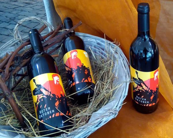 "Rotwein, ""Roter Oktober"", trocken"