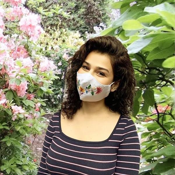 Mund-Nasen-Masken aus Ecuador