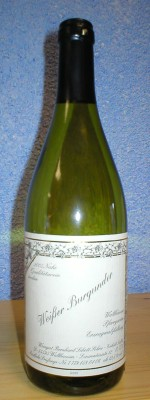 Weißwein, Nahe, Weißer Burgunder, trocken