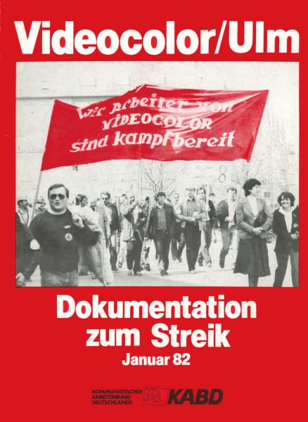 Videocolor-Streik 1982