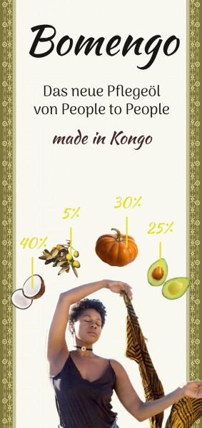 Bomengo Das neue Pflegeöl von People to People made in Kongo