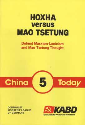 Hoxha versus Mao Tsetung