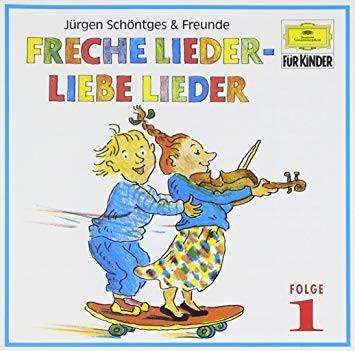 Freche Lieder - Liebe Lieder, 1 Audio-CD