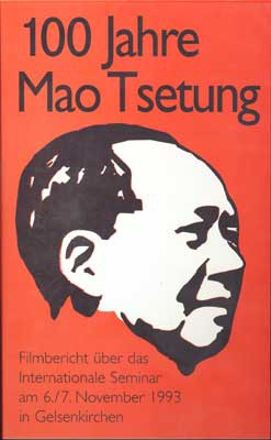 100 years Mao Tsetung