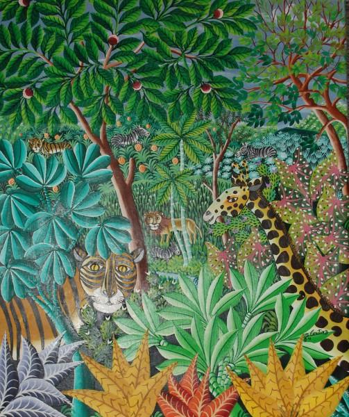 Gemälde Dschungel