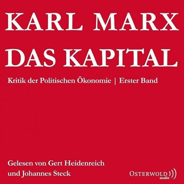 Das Kapital: Kritik der Politischen Ökonomie: 6 CDs Audio-CD
