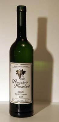 Weißwein, Baden, Riesling, halbtrocken
