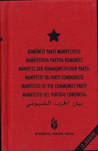 Manifest der Kommunistischen Partei in 7 Sprachen