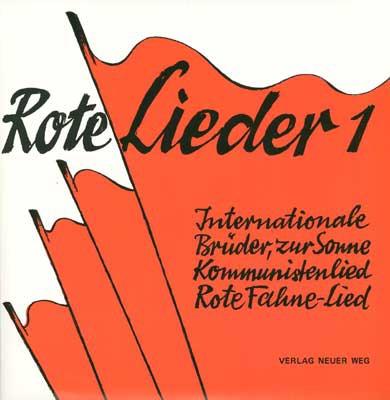 Single Rote Lieder 1