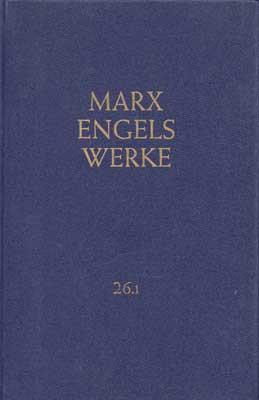 Marx/Engels, Werke Band 26.2 (antiquarisch)