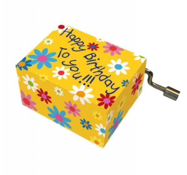 """Spieluhr """"Happy Birthday"""""""