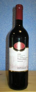Rotwein, Württemberg, Trollinger, trocken
